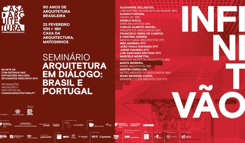 "Seminar ""Architecture in dialogue: Portugal and Brazil"""