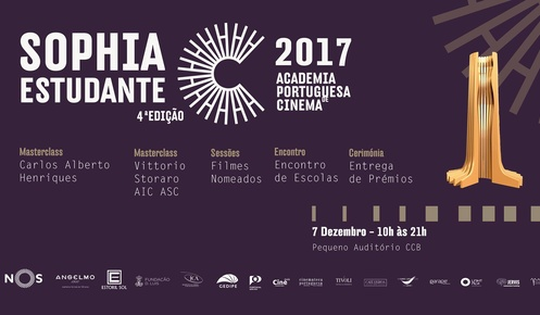 """Un Refúgio Azul"" and ""Camel Toe"" are participating in Sophia Estudante Award 2017"
