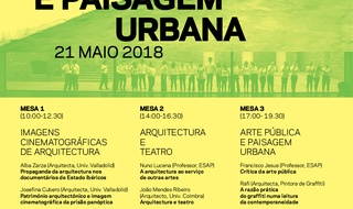 INTERNATIONAL COLLOQUIUM OF ARCHITECTURE, ART AND URBAN LANDSCAPE