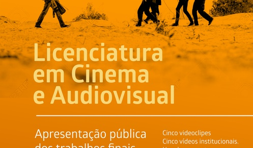 Public Presentation of Final Works of ESAP's Cinema and Audiovisual Bachelor Degree