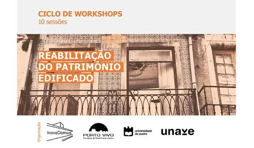 "Workshop ""Revestimentos: Argamassas e Estuque"""