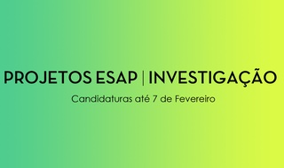 ESAP Projects | Research 2019