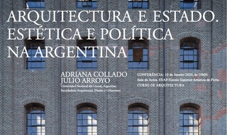 Conference ARQUITECTURE AND STATE. AESTHETICS AND POLITIC IN ARGENTINA
