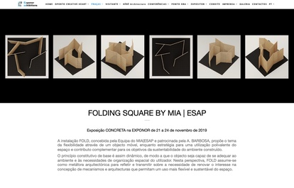 FOLDING SQUARE BY MIA|ESAP